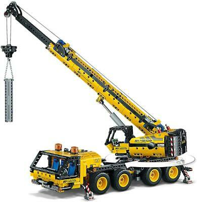 LEGO 42108 Technic Mobile Crane Truck Toy, Construction Vehicles