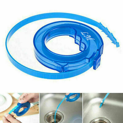 Hair Removal Tool Drain Dredge Pipe Sewer Cleaner Hook A+ Kitchen For Bath F3M8