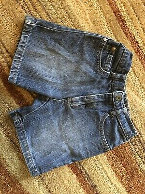 Boys Calvin Klein Denim Jean Shorts Toddler Size 24 Months Excellent Condition