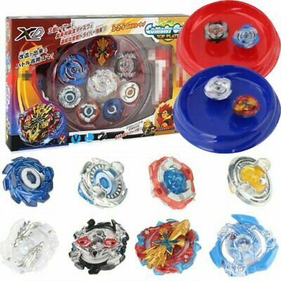 4 x Boxed Bayblade Beyblade Burst 4D Set With Launcher Arena Metal Fight Battle