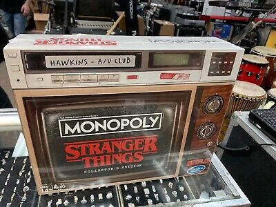 Monopoly Game Stranger Things Collector's Edition Board Popular Series Special