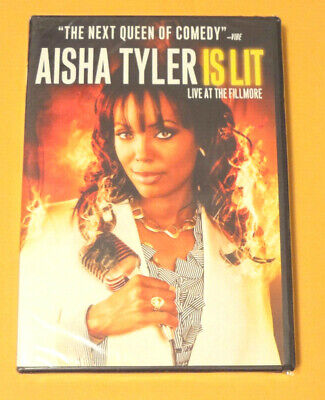 "Aisha Tyler ""Is Lit"" (DVD) [BRAND NEW, SEALED] star of Archer TV Show"