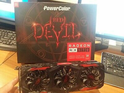 RADEON,powercolor red devil rx 570 AMD 4GB