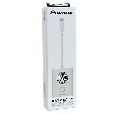 Pioneer Rayz Rally Lightning Macbook/iMac/iPhone Conference Speaker