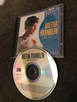 Aretha Franklin - 20 Greatest Hits The Very Best Songs Awesome CD (Not LP) Soul