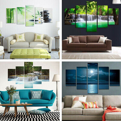 Large Modern Canvas Oil Painting Picture Print Wall Art Home Office Decor UK