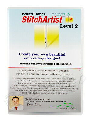 Embrilliance Stitch Artist Level 2
