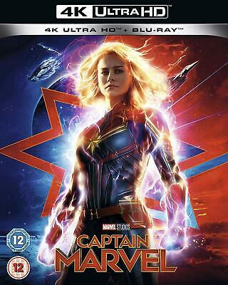Captain Marvel (4K Ultra HD + Blu-ray) [UHD] New Sealed