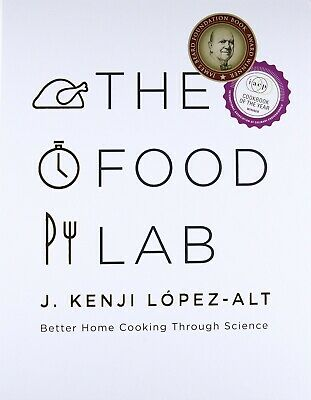 The Food Lab: Better Home Cooking Through Science - electronic book