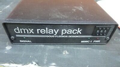 STAGE LIGHTING - Doug Fleenor 6 Channel DMX Relay Pack