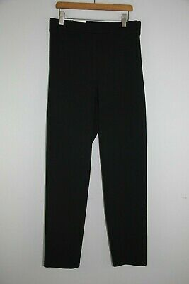Womens Plus Size Pull On Skinny Pants Ponte Knit Work Trousers US 1X-3X