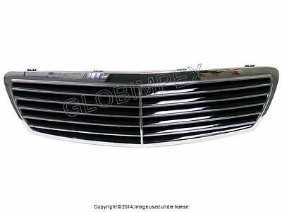 Mercedes w211 Grille Assembly Black NEW GENUINE + 1 year Warranty