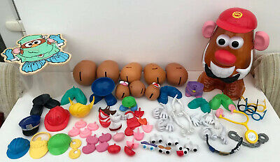 Hasbro Mr Potato 8 X Head Plus Wooden Puzzle Jigsaw Bundle
