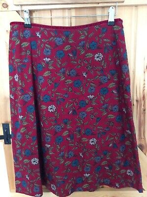 UK10 Winter Bloom Carnelian Seasalt Cabinet Maker Skirt Sales Sample SAVE!