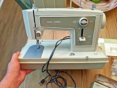 Sears Kenmore Model 1240 Portable Sewing Machine w/ Case + Original Box