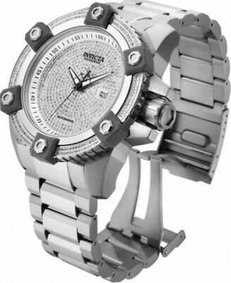 Invicta Reserve 63mm Grand Octane Ltd Ed SWISS Automatic 3.06ctw Diamond Watch