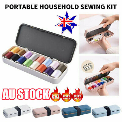1 Set of Sewing Kit Multifunctional Portable Sewing Threads Kit for Home JO