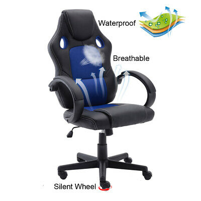 Swivel Gaming Chair Height Adjustable Executive Racing Office Chair