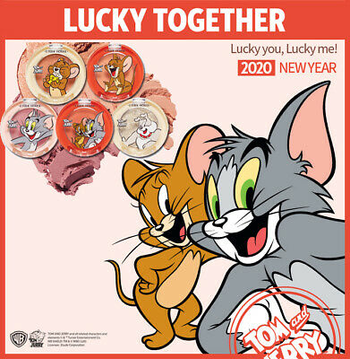 ETUDE HOUSE - 2020 Lucky Together TOM&JERRY Collection LOOK AT MY EYES eyeshadow