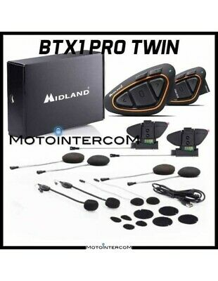 XIT BTX1PRO HI-FI Twin Pack Midland Intercom
