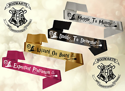 Who Knows Mum Best Pack of 10 A5 Parchments. Harry Potter Baby Shower Game