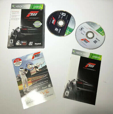 Forza Motorsport 3 Ultimate Collection Microsoft Xbox 360 2010 Not For Resale Ed