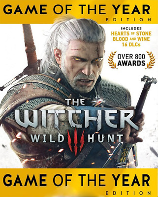 The Witcher 3 III Game of the Year Edition - PC Steam Verleih GOTY Edition EU/DE