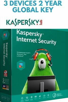 Kaspersky Internet Security 2020 Multi Device 3 Pc 2 Years