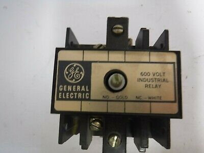 General Electric Cr120B 044 Series A 600V Industrial Relay **Xlnt**
