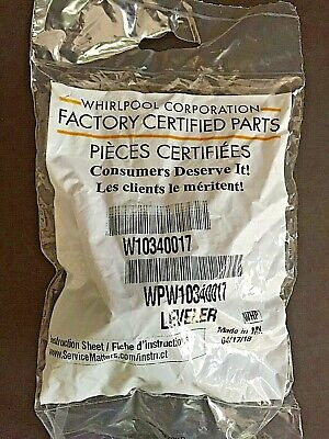Whirlpool Appliance Leveler OEM W10340017 Refrigerator & Other New in Package