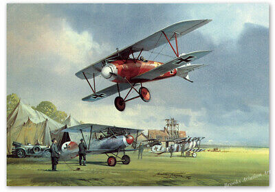 The Age of Chivalry - art print by Michael Turner - WWI pilot signature