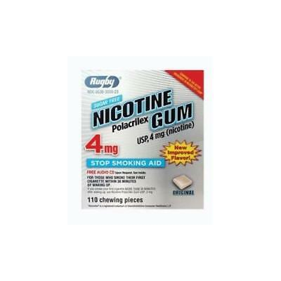 2 Paquet Rugby Nicotine Polacrilex Gomme Usp 4Mg 110 Chaque