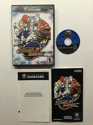 Sonic Adventure Battle 2 Nintendo GameCube CIB Complete Game Cube TESTED WORKING