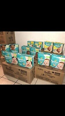 Pampers Swaddlers 12 Packs Of 20 Diapers Size Newborn. Sold By Case. Count 240