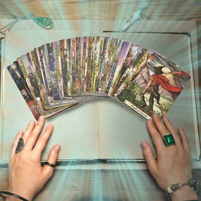 Everyday Witch/Del Fuego/The Steampunk/Light Visions Tarot Cards Full English