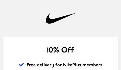 NIKE 10% OFF VALID DISCOUNT CODE (including Sale items)-UK & EU