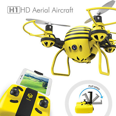 HASAKEE H1 FPV RC Drone with HD Live Video Wifi Camera and Headless Mode 2.4GHz