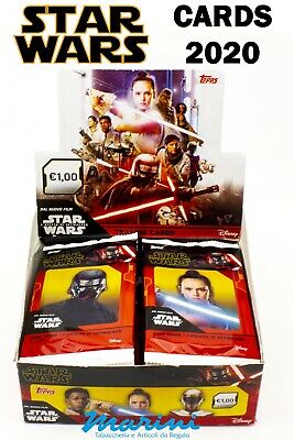 Trading Cards Star Wars - The Rise Of Skywalker Topps 2020 Box Of 30 Sachets