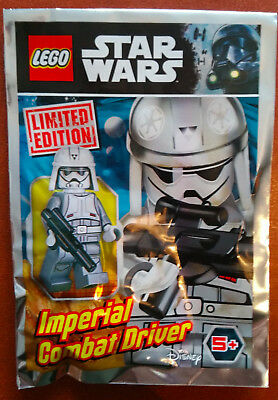 LEGO FIGURINE POLYBAG MINIFIGURE STAR WARS minifig IMPERIAL COMBAT DRIVER