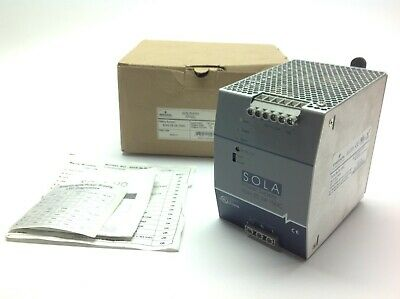 Emerson SOLA SDN 20-24-100C Power Supply 20 A,100-240 VAC, 24 VDC Out