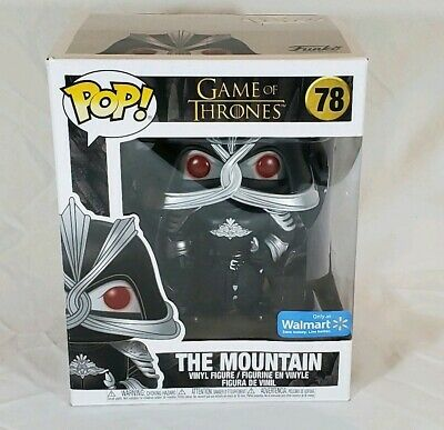 Funko Pop! Game of Thrones Walmart Exclusive THE MOUNTAIN #78 Masked 6 inch, New