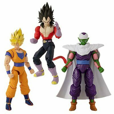 IN STOCK! Dragon Ball Stars Action Figure Wave 13 Set of 3 by Bandai