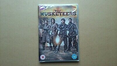 The Musketeers - Season 1 - 2014 Period Drama Series (4 Disc DVD) NEW & SEALED