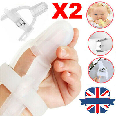 Baby Kids Forefinger//Thumb Sucking Stop Silicone Finger Guard Protect Prevention