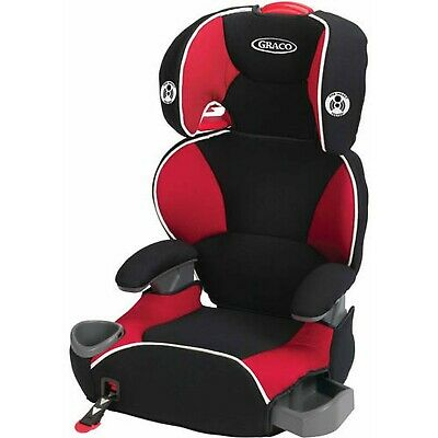Graco Affix Highback Booster Seat with Latch System, Atomic Red 1852665