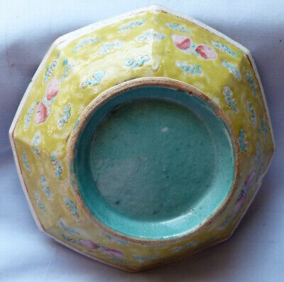 Early Chinese Antique Yellow-Glazed Bowl