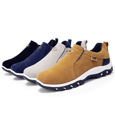 Men's Outdoor Comfort Althletic Sneakers Slip-on Casual Shoes for Hiking Walking