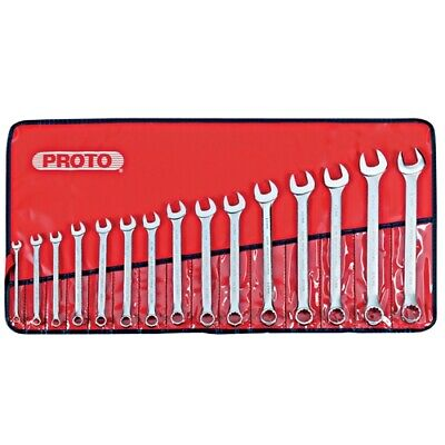 Stanley Proto J1200F-MASD 15 Piece Metric Combination ASD Wrench Set, 12 Point