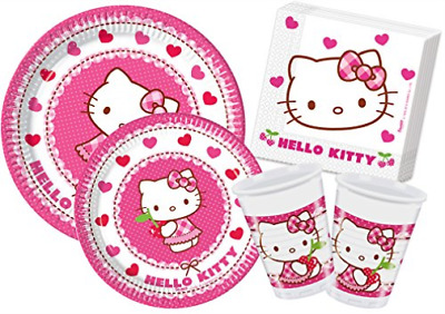 Y4307-Kit Party Tav. H.Kitty Heart 24Pax NEW