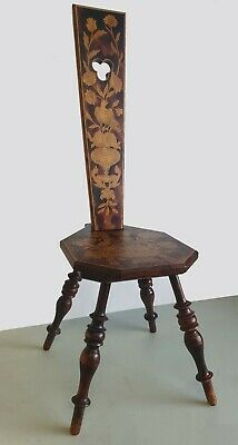 Decorative Arts And Crafts Spinning Chair / Stool